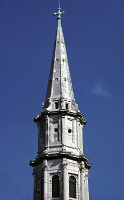 St George (C. of I.), Hardwicke Place: spire (upper stage)