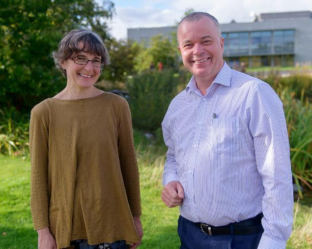 Pictured above: Professor Sarah Moss and Professor John Brannigan