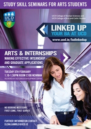 Arts and Internships