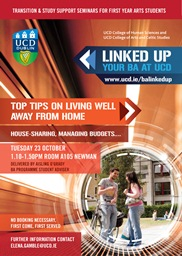 Top tips on living well away from home!
