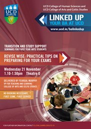 Revise WISE! Practical tips on preparing for your exams