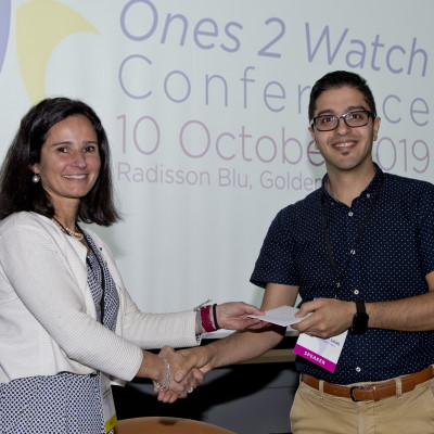 Dr Amirhoussein Jalali receives prize in HRB 'Ones2Watch'