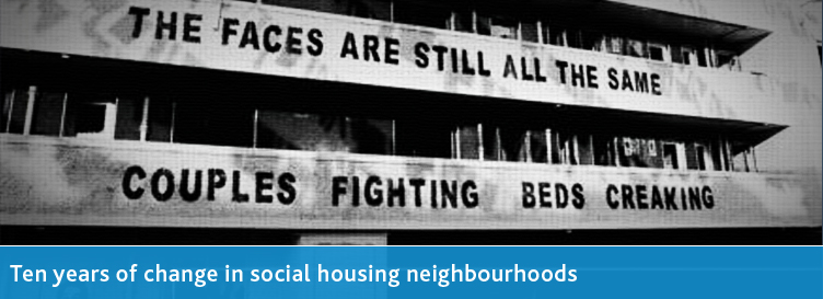 Ten Years of Change in Social Housing Neighbourhoods