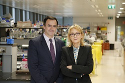 Dr Ivan Coulter, CEO and Professor Therese Kinsella, founder and CSO, ATXA Therapeutics