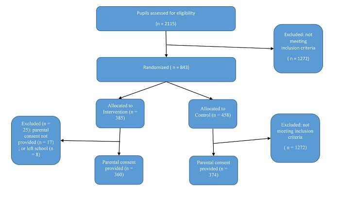 0066-01 BITC Trial 1 Response rate flow chart