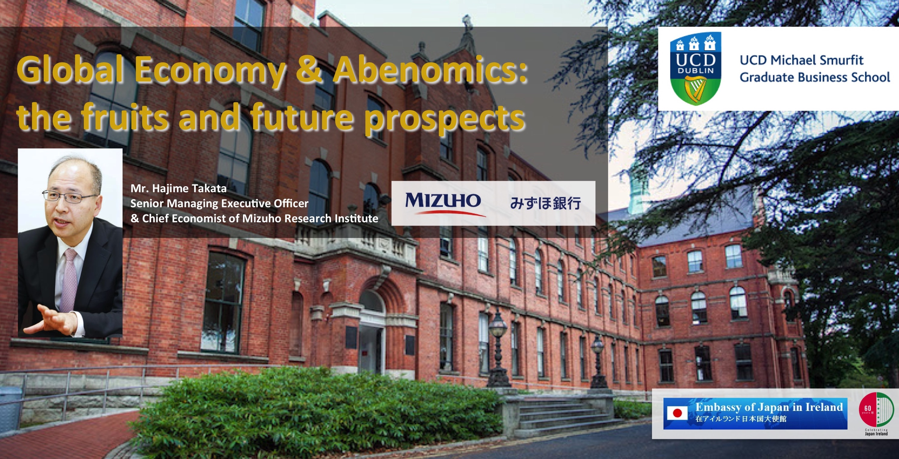 Seminar - Global Economy & Abenomics: the fruits & future prospects