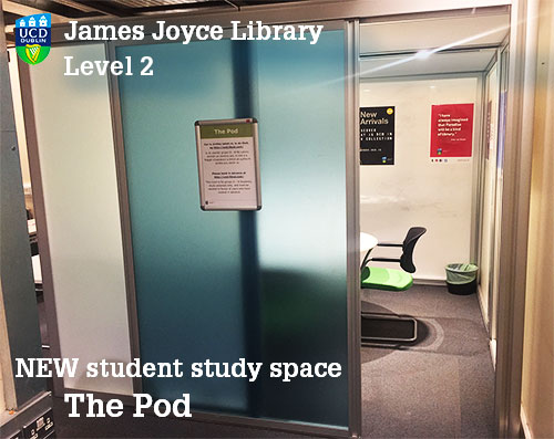 Photo of the Pod collaborative space