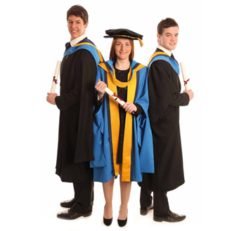 New Hoods And Robes For Ucd Graduations