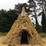 Replica Of 10 000 Year Old Mesolithic Dwelling Built By