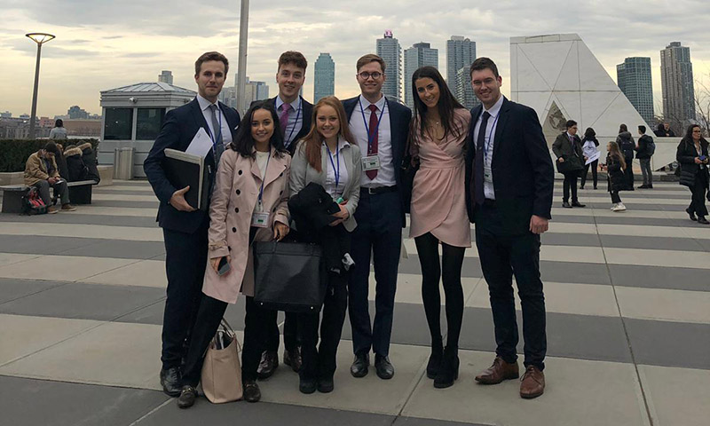 UCD Quinn and Smurfit students on recent New York trip