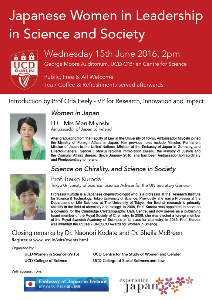 Japanese Women in Leadership in Science and Society