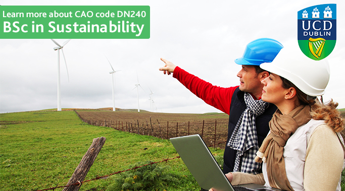 BSc in Sustainability at University College Dublin