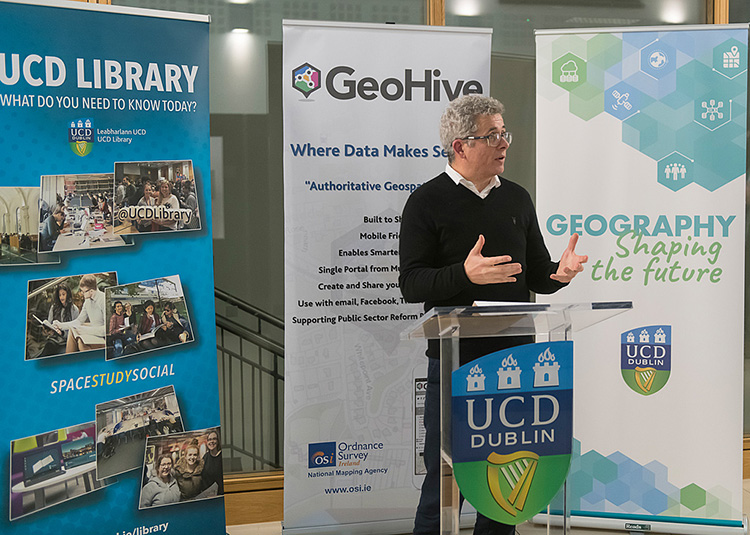 Eoin O'Mahony from UCD School of Geography