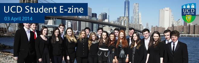 UCD Student E-zine - 03 April 2014