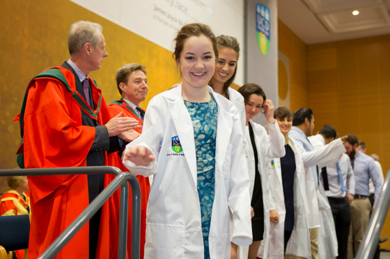2015 Clinical Commencement White Coat Ceremony