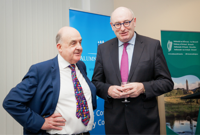 Judge O'Caoimh and Commisioner Hogan