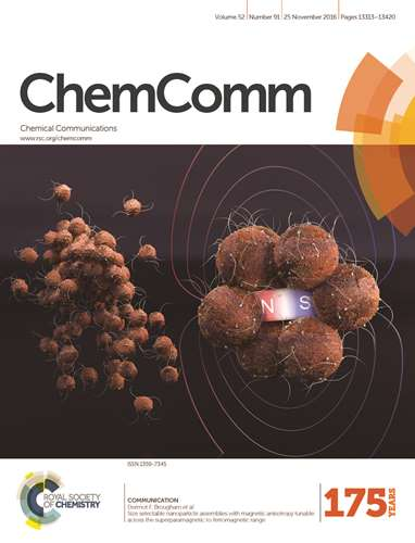 Cover of Chemical Communications
