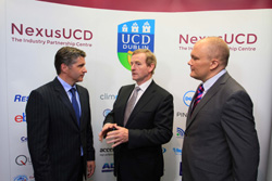 Conor Hanley, Enda Kenny TD, Peter Clinch