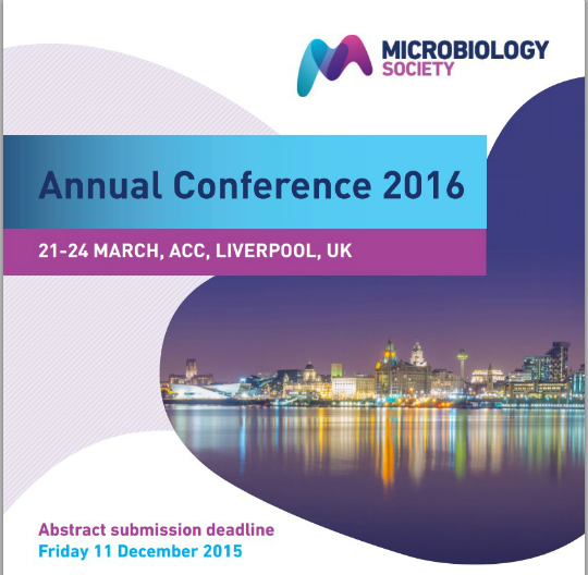 160321 - Microbiology Society 2016 Annual Conference