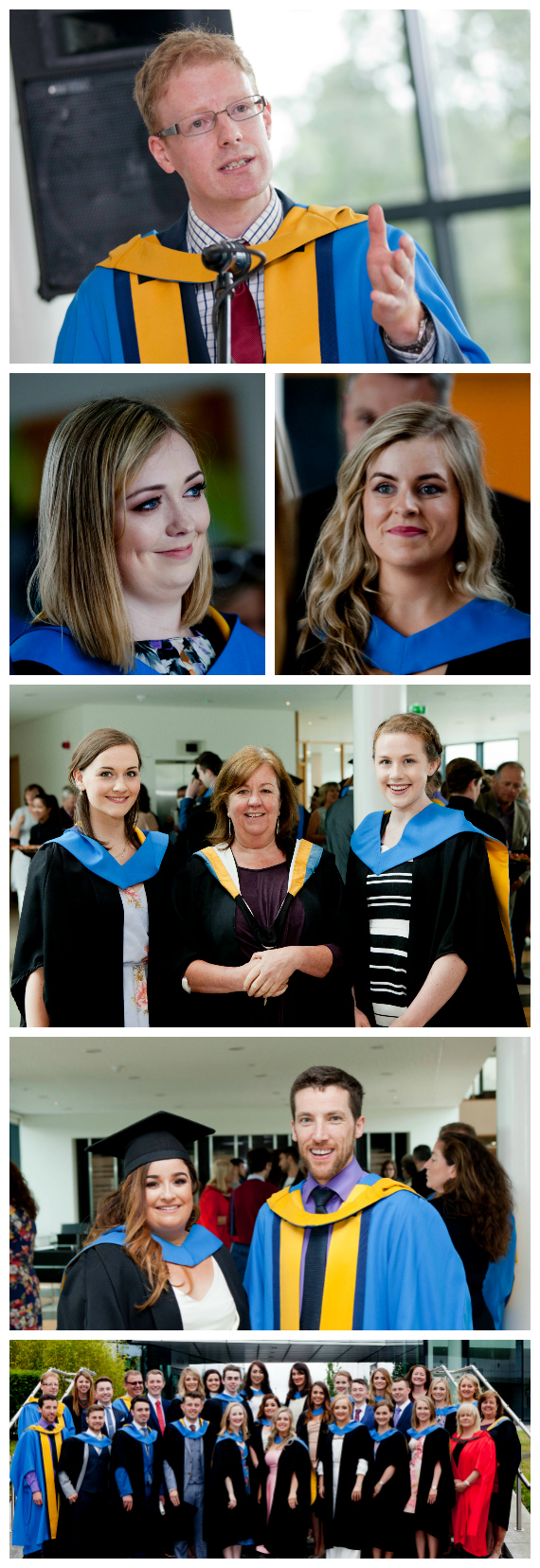 Selection of photographs from the 2016 Radiography Student Awards Reception at UCD