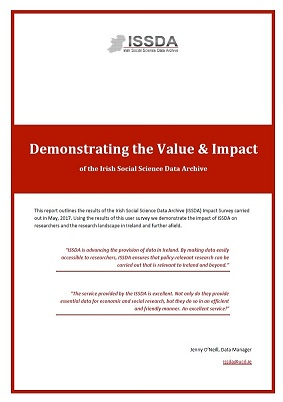 Demonstrating the Value & Impact of ISSDA