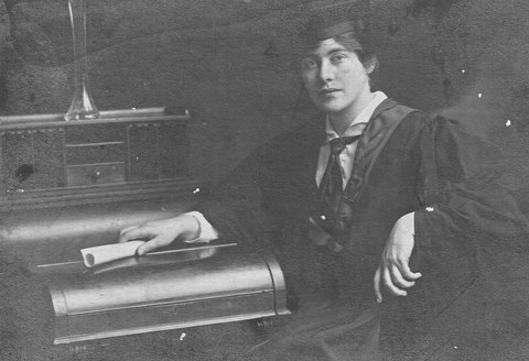 Dr Mary J Farrell as a graduate