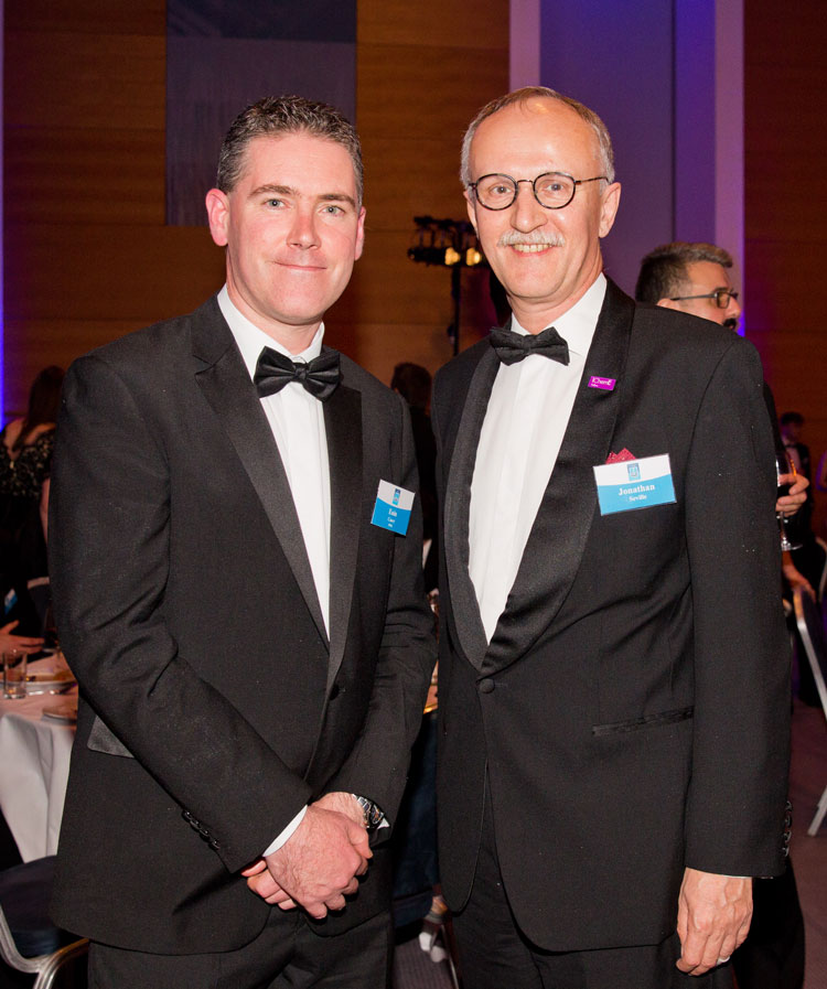 Prof. Eoin Casey, Head of School & Prof. Jonathan Seville, President, Institution of Chemical Engineers (IChemE)