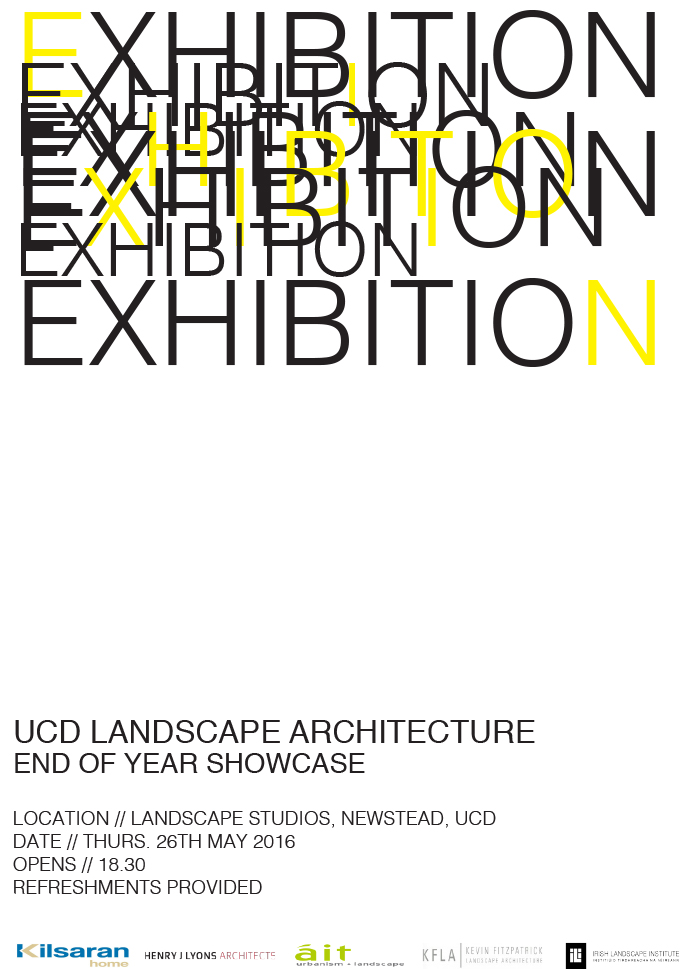 Landscape Architecture End of Year Showcase