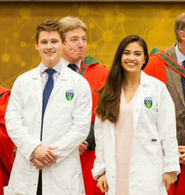 2017 Clinical Commencement White Coat Ceremony
