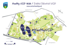 Healthy UCD - find out more about our vision to be recognised as a global health promoting university