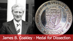 Image of James B Coakley and Medal