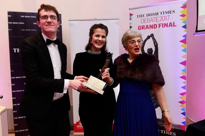 Irish Times Debate Winners