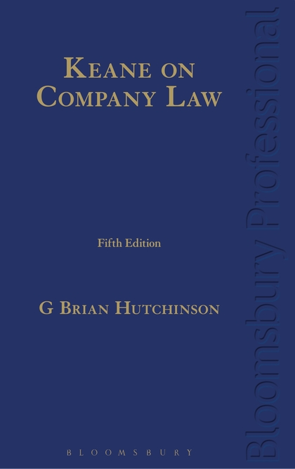 Cover-Keane on Company Law