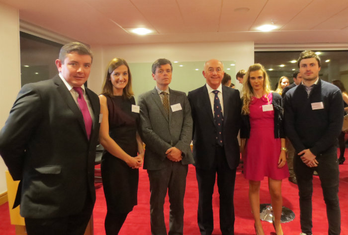 The Hon Mr Justice Peter Kelly with UCD Staff and Students