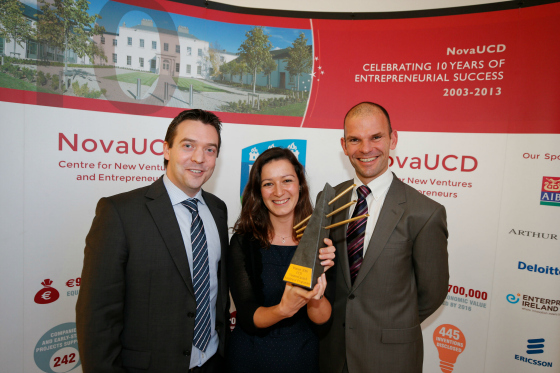 EpiCor Therapeutics, an early-stage biotech start-up, has won University College Dublin's (UCD) 2016 Start-Up of the Year Award. The UCD School of Medicine start-up won the Award, and a €20,000 prize, after being declared overall winner of the 2016 UCD VentureLaunch Accelerator Programme.