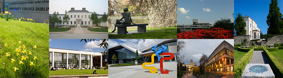 Collage of UCD images
