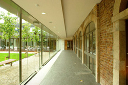 The Glazed Corridor at NovaUCD