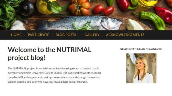 Nutrimal project blog