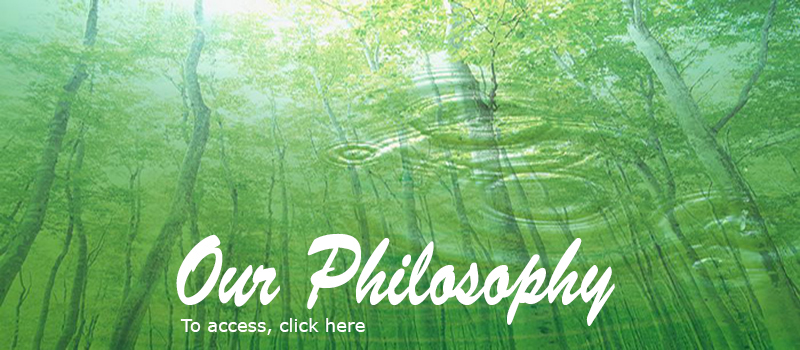 Our Philosophy - green ripple effect