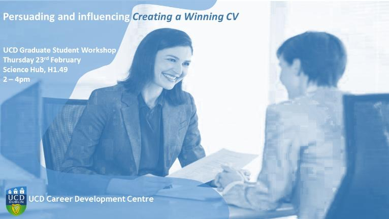 Persuading and influencing Creating a Winning CV