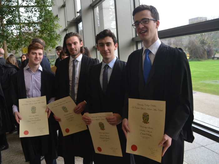 Student prize winners