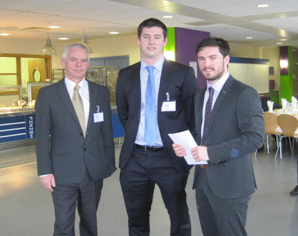 Dr Russell Higgs, David Whelan of Zurich Insurance Group and Luke Killoran