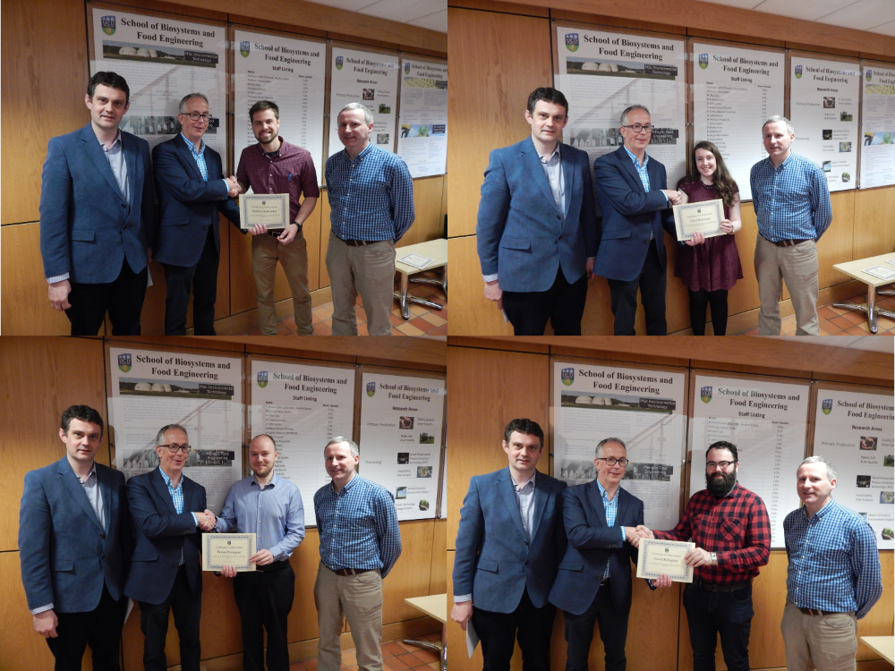 Annual Research Seminar Prizes Presented