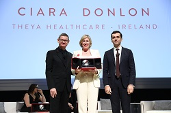 Ciara Donlon, THEYA Healthcare, Laureate for Europ