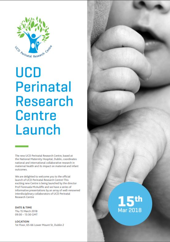 UCD Perinatal Research Centre Launch