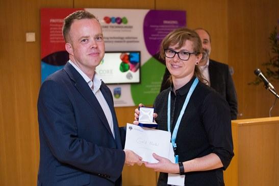 2018 UCD Conway Festival Gold Medal winner, Dr Ariane Watson