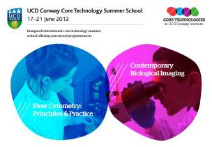UCD Conway Core Technology Summer School 17-21 June 2013
