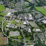 Aerial view of UCD Belfield campus
