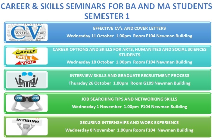 Career & Skills Seminar for BA and MA Students