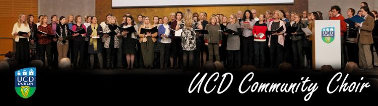 Image of the UCD Community Choir